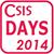 CSIS DAYS 2014